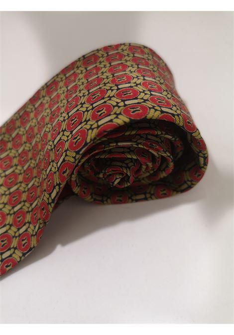 Christian Dior red multicoloured silk tie Christian Dior |  | MULTIORO ROSSO