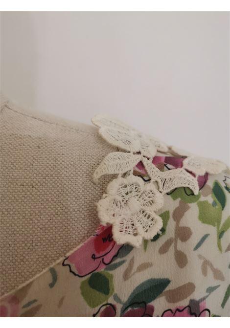 Dolce & Gabbana white flowers lace t-shirt Dolce&Gabbana | T-Shirts | AC02160XSFCVFIORI PIZZO