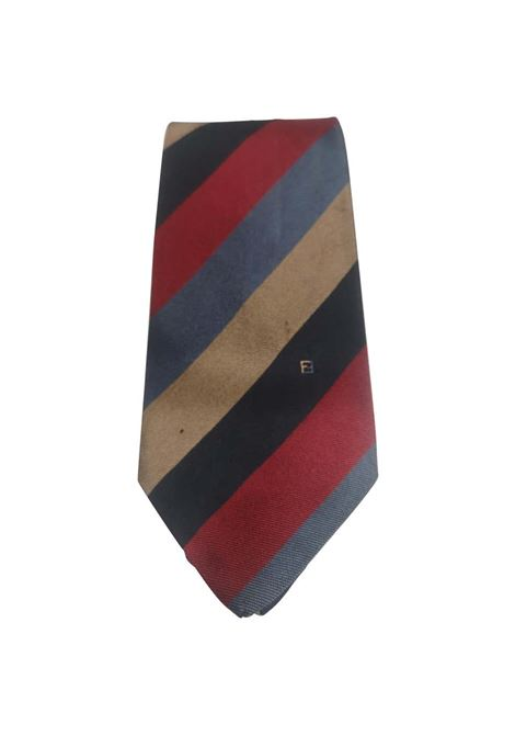 Fendi Vintage multicoloured silk tie Fendi | Cravatta | TIEROSSO MULTI