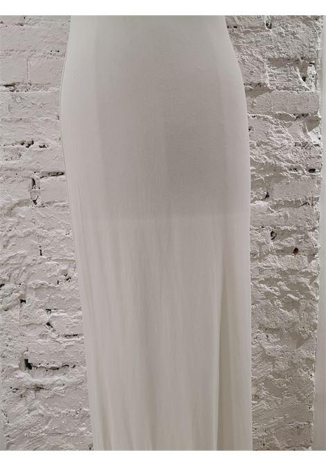 Mattiolo Jeans long white dress Gay Mattiolo | Dresses | AC02150XSFCDSPALLINE