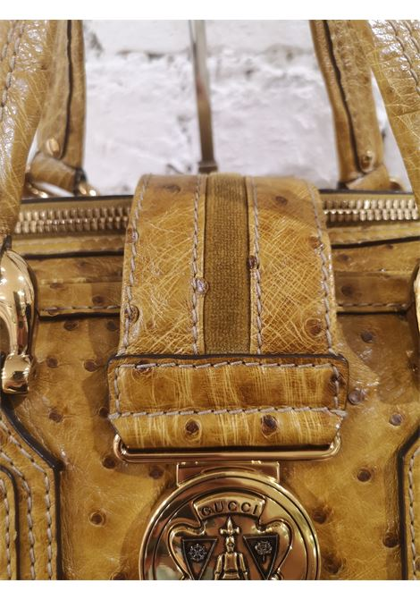 Gucci ostrich speedy light brown handle bag Gucci | Bags | AMGV021X1200SFCSTRUZZO