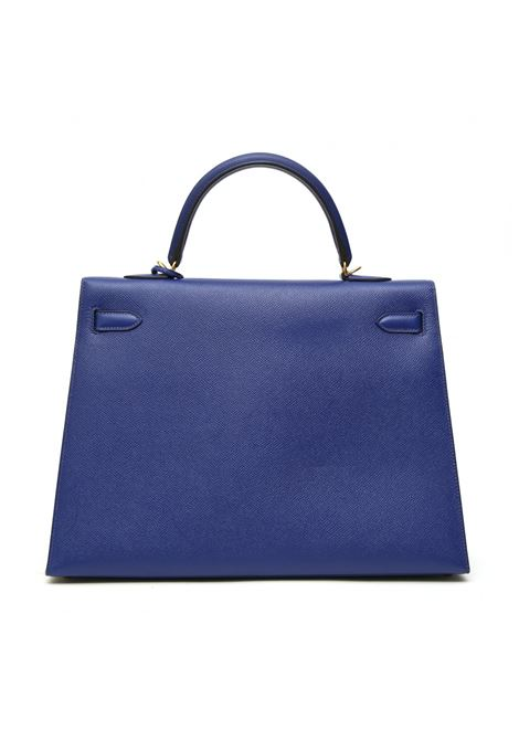 Hermès Kelly 35 blue leather shoulder handbag Hermes | Borsa | KELLY 35 BLUEELETTRICO