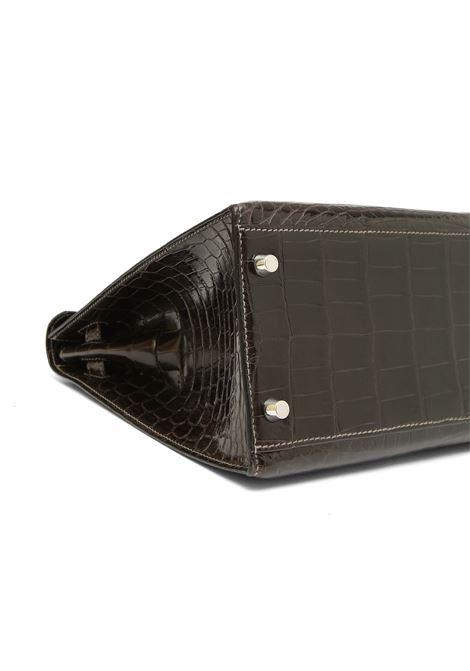 Hermès Kelly 32 Sellier Grey Elephant alligator  Hermes | Borsa | KELLYGRIGIO ELEFANTE