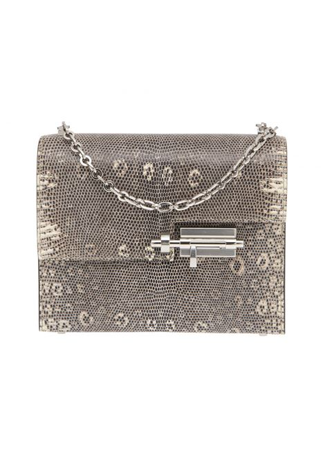 Hermès mini verrou lizard chain shoulder bag Hermes | Borsa | LIZARDGRIGIO