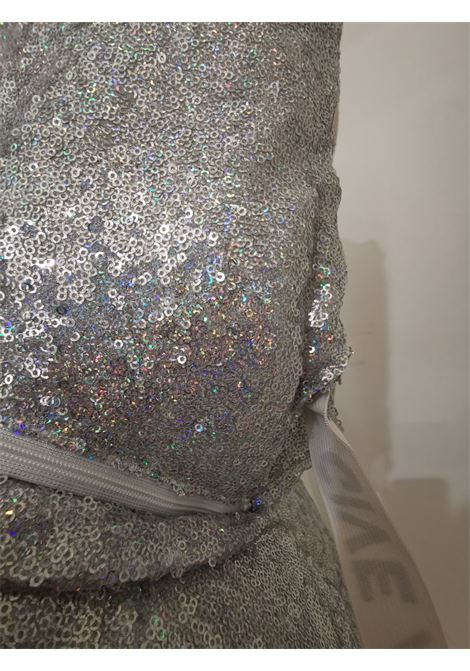 House of MuaMua silver sequins duvet bomber jacket House of Muamua | Jackets | BOMBERSILVER