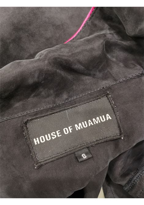 House of Muamua silk pijama shirt Out of Office House of Muamua | Shirts | PIJAMA OUT OF OFFICEOUT OF OFFICE