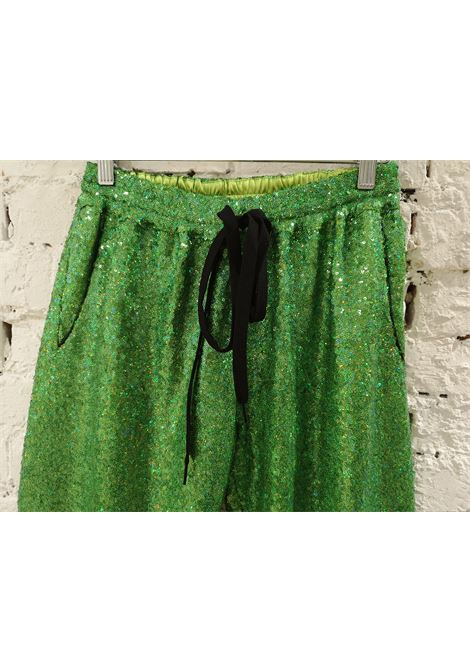 House of Muamua | Trousers | PIJAMA PANTS -VERDE