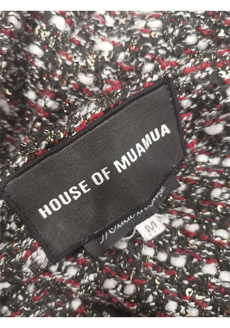 House of Mua Mua tweed skirt House of Muamua | Gonna | RWEEDBLACK
