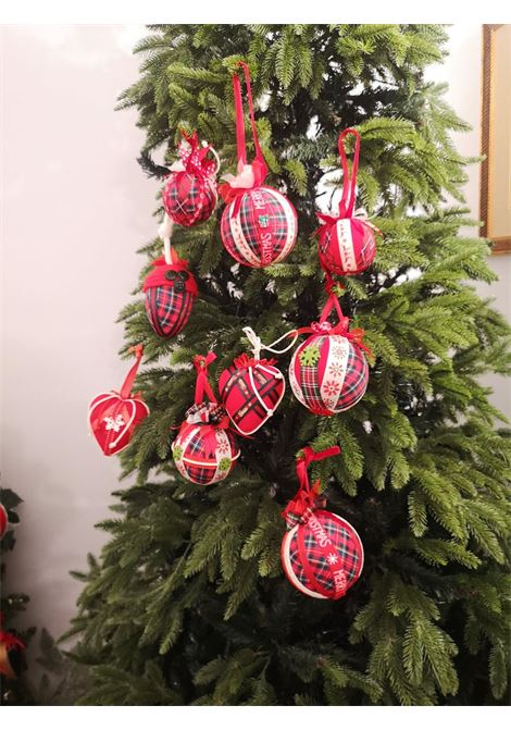 Christmas handmade set of nine ornaments HouseOfXmas | Decorazioni natale | SET of Eight1
