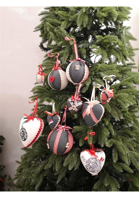 Christmas handmade set of ten ornaments HouseOfXmas | Decorazioni natale | SETOFTEN10