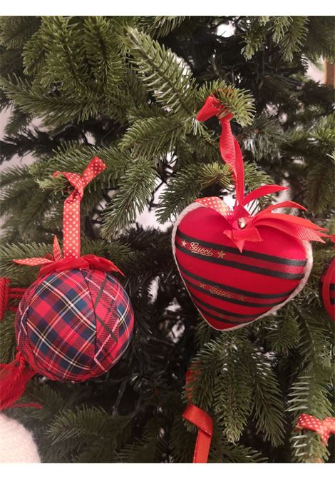 Christmas set of ten handmade ornaments HouseOfXmas | Decorazioni natale | SETOFTENTARTANREDTARTAN