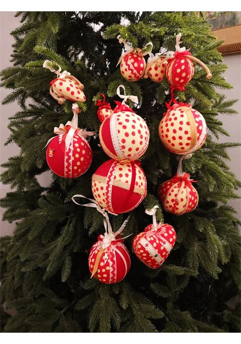Christmas handmade set of twelve ornaments HouseOfXmas | Decorazioni natale | SETOFTWELVEPOISPOIS