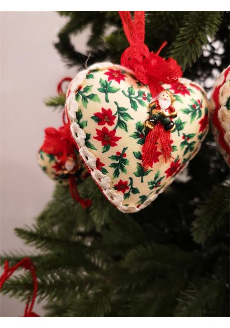 Christmas handmade set of Eleven ornaments HouseOfXmas | Decorazioni natale | XMAS11LEAVESWHITE