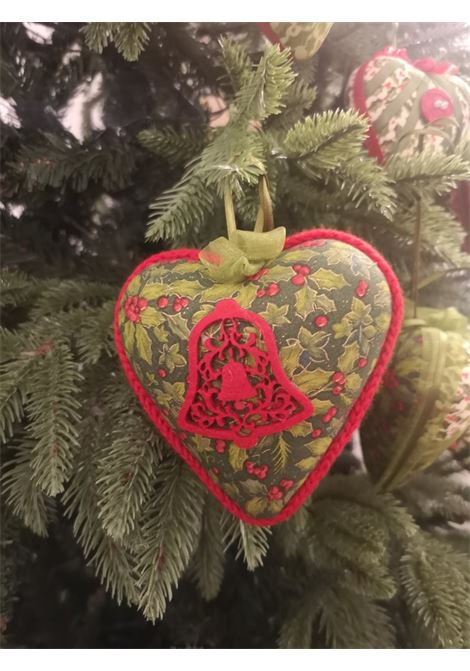 Christmas handmade set of nine hearts ornaments HouseOfXmas | Decorazioni natale | XMAS9_LEAVES