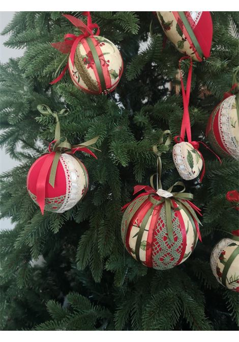 Christmas handmade set of nine ornaments HouseOfXmas | Decorazioni natale | XMAS9__GREEN