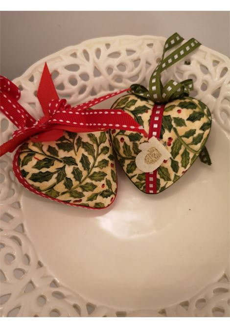 Christmas handmade set of ten ornaments HouseOfXmas | Decorazioni natale | XMAS_SET10 GREEN