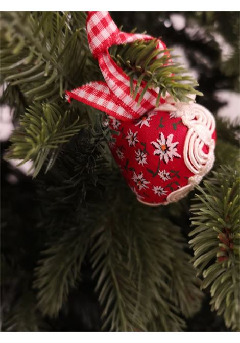 Christmas set of ten handmade ornaments HouseOfXmas | Decorazioni natale | XMAS_SET10 RED