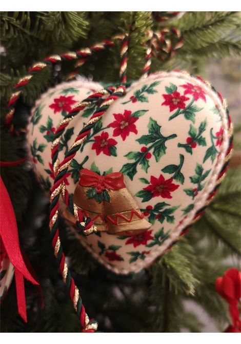 Christmas handmade set of twelve ornaments HouseOfXmas | Decorazioni natale | XMAS_SET12 LEAVES