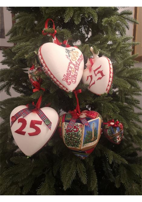 Christmas set of six handmade ornaments HouseOfXmas | Decorazioni natale | XMAS_SET6