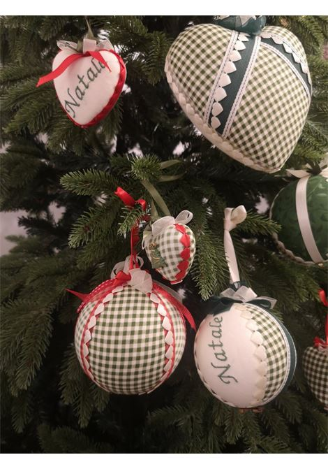 Xmas set of nine handmade ornaments HouseOfXmas | Decorazioni natale | XMAS_SET9 PIEDDEPOULE