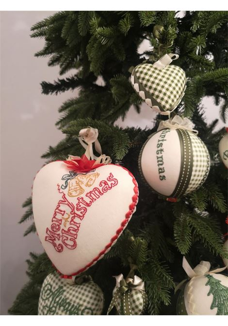 Xmas handmade set of nine ornaments HouseOfXmas | Decorazioni natale | XMAS_SET9PIEDDEPOULE