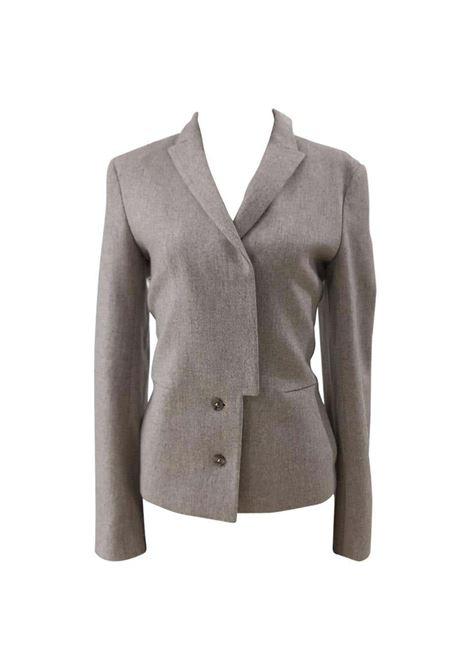 Jil Sander grey wool jacket Jil Sander | Giacca | AC02110XS0GRIGIA