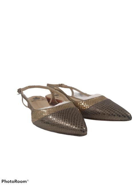 L'arianna | Shoes | CH2006LAMIN ORO ORANG