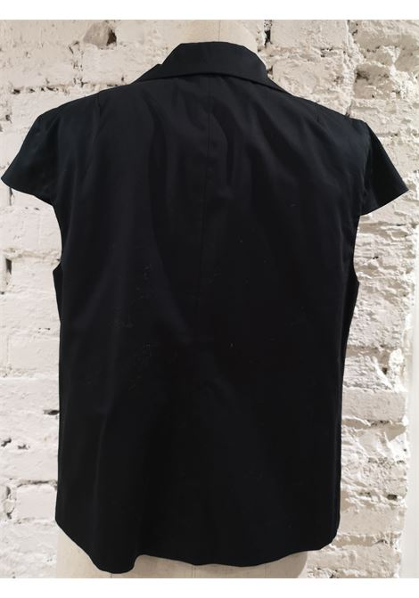 L'Autre Chose black shirt - sleeveless jacket L'autre Chose | Jackets | AC02150DEF\NERO