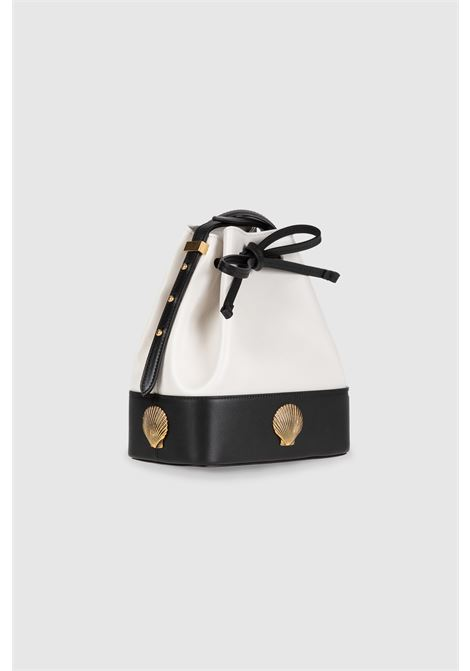 Le Deff black and white Lalla satchel Le Deff | Bags | LALLABIANCO NERO
