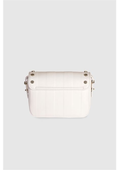 Le Deff Midi Silvia white stripes shoulder crossbody bag Le Deff | Bags | MIDI SILVIAPELLE