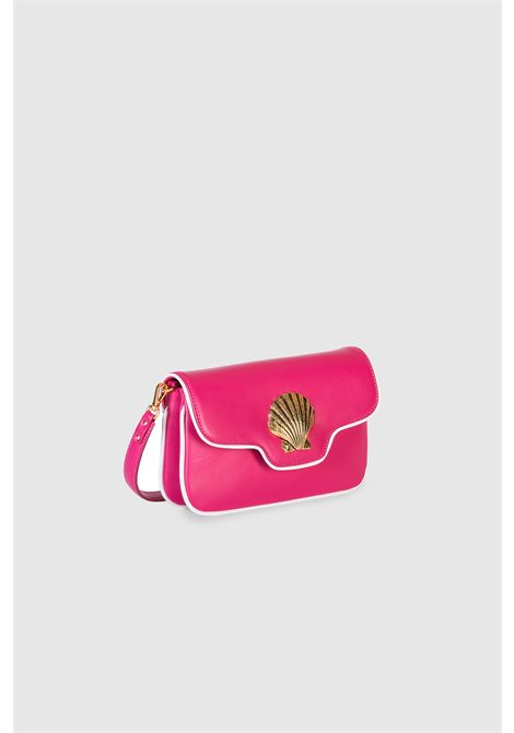 Le Deff mini lalla fucsia leather shoulder bag crossbody Le Deff | Bags | MINI LALLAPELLE