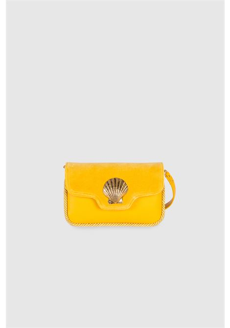 Le Deff mini lalla yellow crossbody clutch bag Le Deff | Bags | MINI LALLAVELLUTO