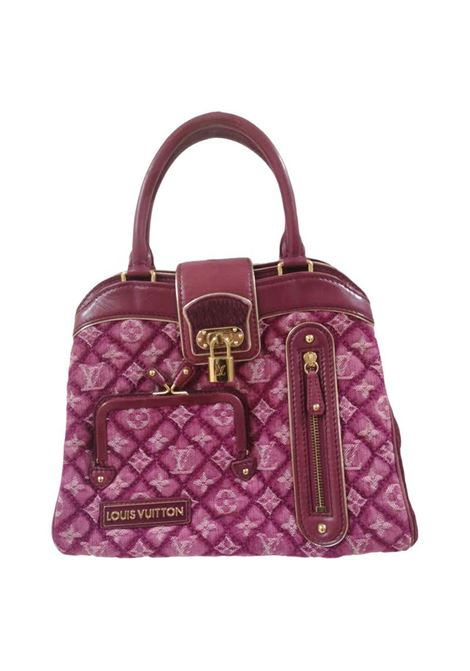 Louis Vuitton monogram denim fuchsia Linda Limited edizion bag Louis Vuitton | Bags | AMGV021A015DEXKJEANS ROSA