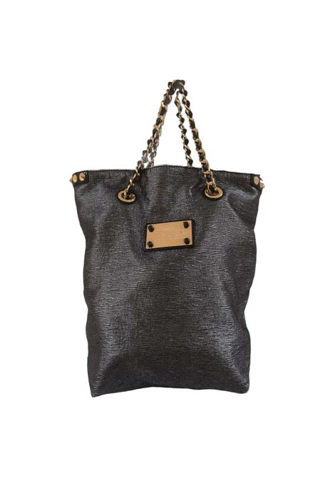 Louis Vuitton Anthracite gold studs shoulder handle bag Louis Vuitton | Borsa | LE021XA750NERA