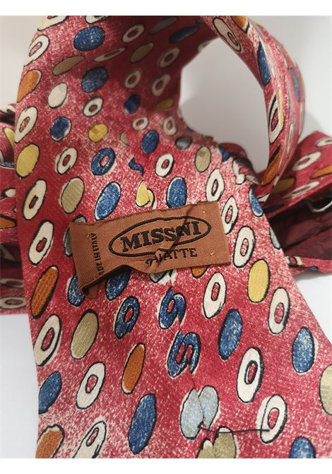 Missoni red multicoloured silk tie Missoni | Cravatta | CRAVATTA//ROSSO