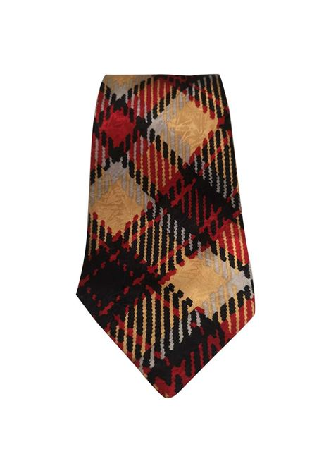 Pierre Cardin red multicoloured silk tie Pierre Cardin | Cravatta | TIE11MULTI