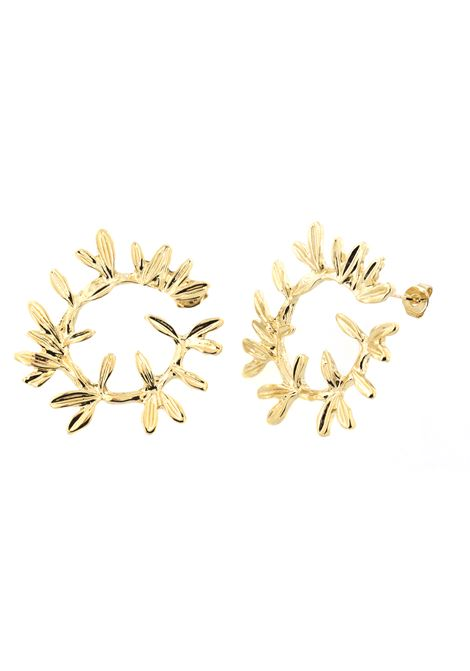 18kt gold plated earrings  Pitimali | Earrings | 0001RAMO