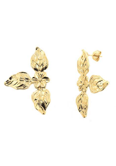 18kt gold plated Baroque Earrings Pitimali | Earrings | 0002FIORE