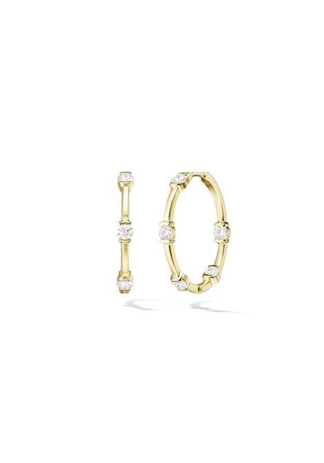 Hoop earrings Pitimali | Earrings | 551ORZIRCONI