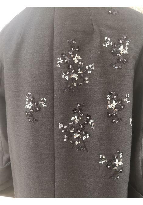 Prada dark grey sequins beads coat Prada | Trenchs | AT021XS1250RVPELLICCIA