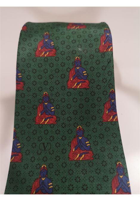 Valentino green silk tie Valentino | Cravatta | TIE//VERDE11