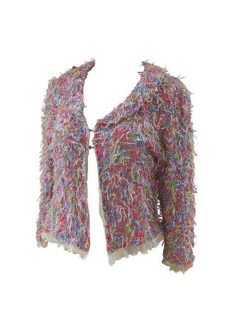 Vanessa del Solve multicoloured jacket VIntage | Giacca | AC02130SFCMARIELLA ROSATI