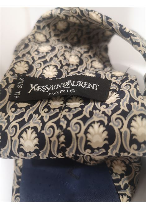 Yves Saint Laurent Vintage multicoloured silk tie yves saint laurent |  | TIE//MULTI1