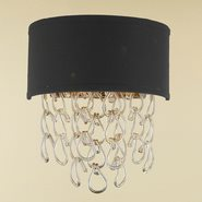 Halo 2 Light Champagne Finish Wall Sconce