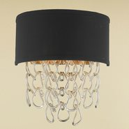Halo 2 Light Matte Gold Finish Wall Sconce