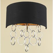 Catena 2 Light Matte Gold Finish Wall Sconce