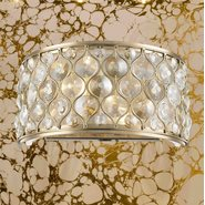Paris 2 Light Champagne Finish Wall Sconce