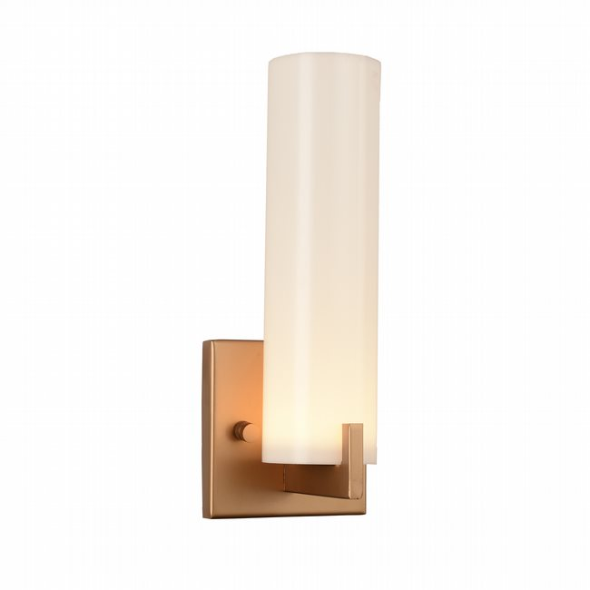 w23441mg5 Apollo 1 light matte gold finish LED wall sconce - Discontinued