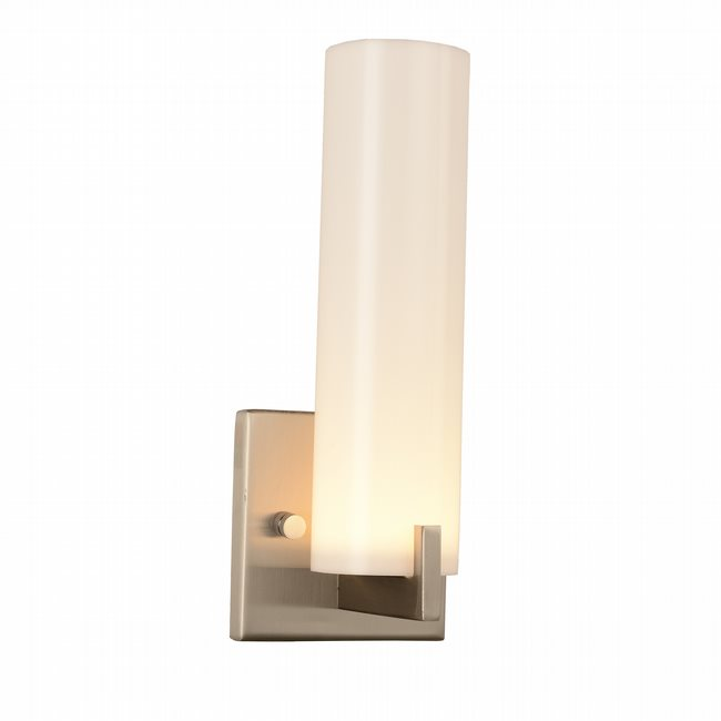 w23441mn5 Apollo 1 light matte nickel finish LED wall sconce - Discontinued