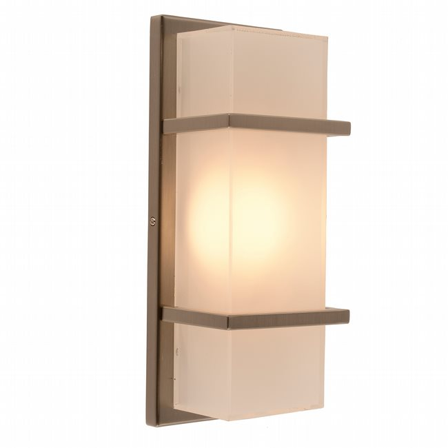 w23446mn13 Mendenhall 1 Light Matte Nickel Finish LED Wall Sconce